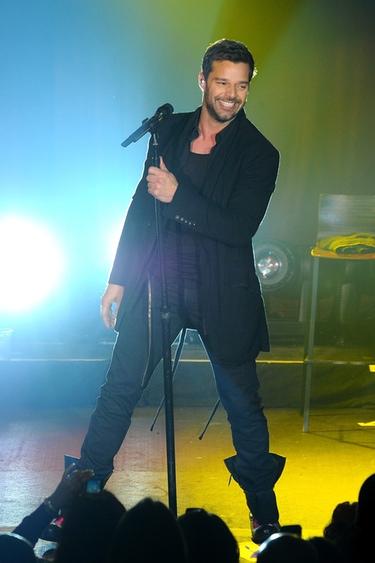 Ricky Martin presenta su disco 'Música+Alma+Sexo' en un concierto en Nueva York