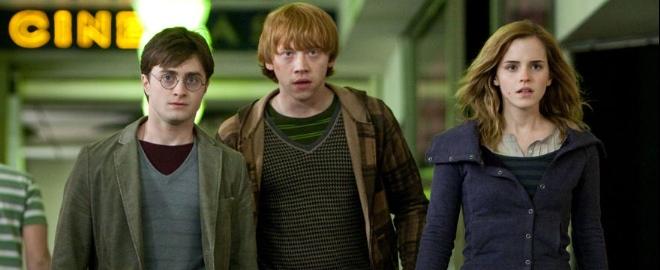 fotograma de la última entrega de Harry Potter