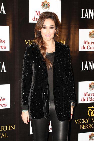 Vicky Martín Berrocal inunda de famosos el Salón Internacional de la Moda Flamenca de Sevilla