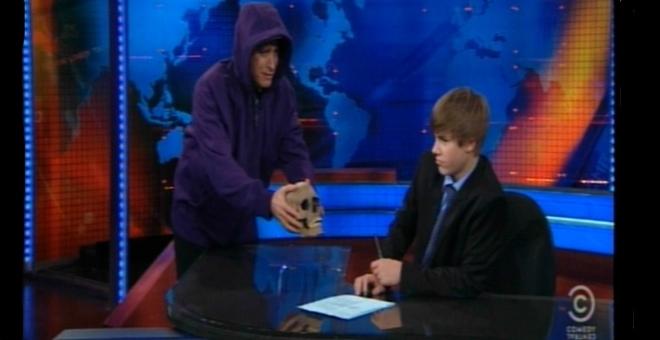 Justin presentador