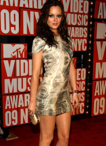 Leighton Meester en los Video Musica Awards