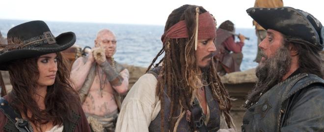 fotograma de 'Piratas del Caribe'