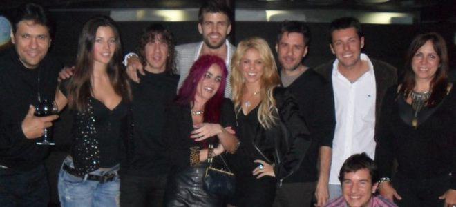 Piqué publica en Facebook la fotografía que confirmaría su noviazgo con Shakira
