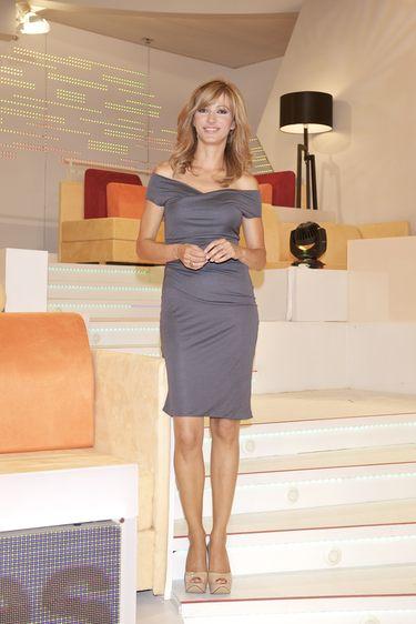 Susanna Griso en el plató de 'Espejo Público'