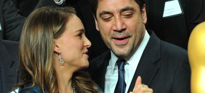 Natalie Portman pide consejo a Bardem en el 'lunch' de los nominados a los Oscar 2011