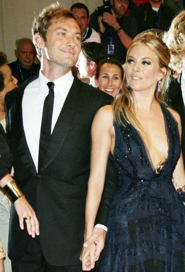 Jude Law y Sienna Miller vuelven a romper