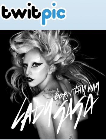 Portada segundo disco de Lady Gaga