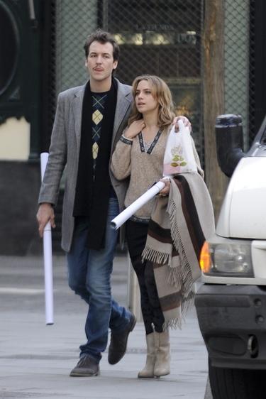 Aura Garrido y Jorge Suquet pillados juntos