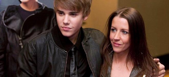 Justin Bieber y su madre