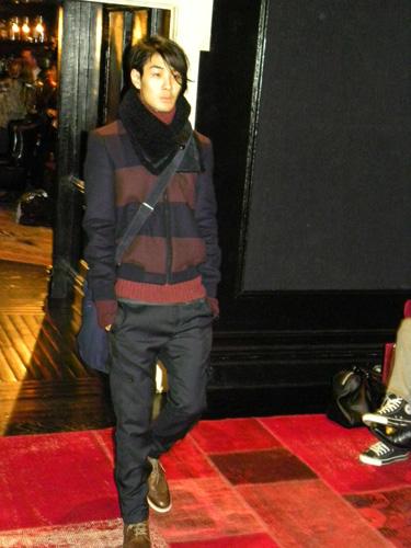 desfile de Tommy Hilfiger moda hombre