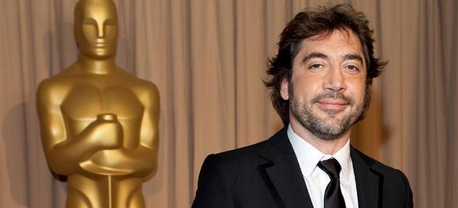 Javier Bardem de camino a los Oscar