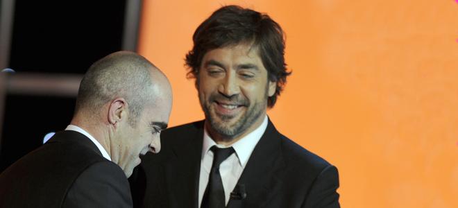 Javier Bardem entrega el Goya  Luis Tosar
