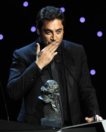 Javier Bardem, Goya 2011 a 'Mejor Actor' por 'Biutiful'