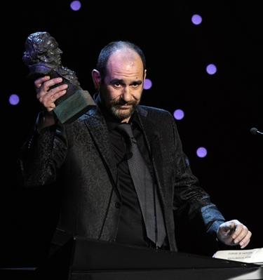 Karra Elejalde, Goya 2011 a 'Mejor Actor de Reparto' por 'También la lluvia'