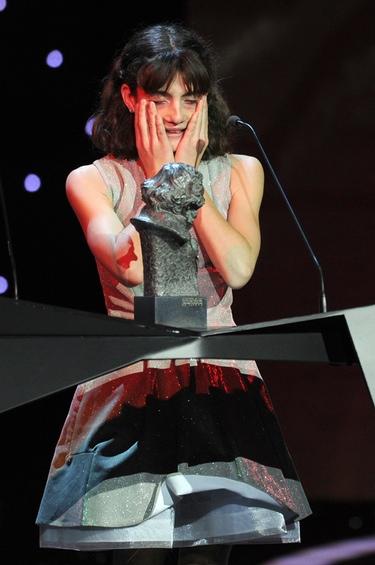 Marina Comas por 'Pa negre', Goya 2011 a la 'Mejor Actriz Revelación'