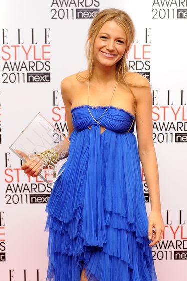 Emma Watson y Blake Lively, premiadas por su elegancia en los Elle Style 2011