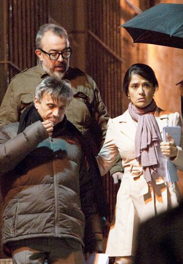 Salma Hayek comienza el rodaje de la nueva película de Álex de la Iglesia