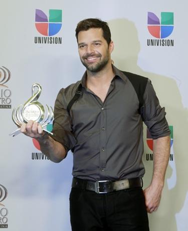 Shakira, Ricky Martin y Enrique Iglesias, galardonados en los premios 'Lo Nuestro'