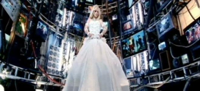 fotograma del videoclip de Britney Spears