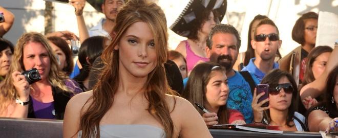 La actriz durante la promoción de 'Crepúsculo'