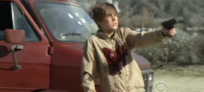 Las imágenes de la muerte de Justin Bieber en 'CSI Las Vegas'