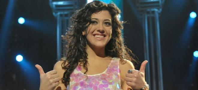 Lucía Pérez durante la gala