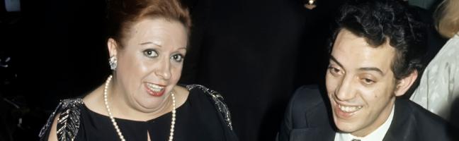 Florinda Chico y su marido Santos Pumar