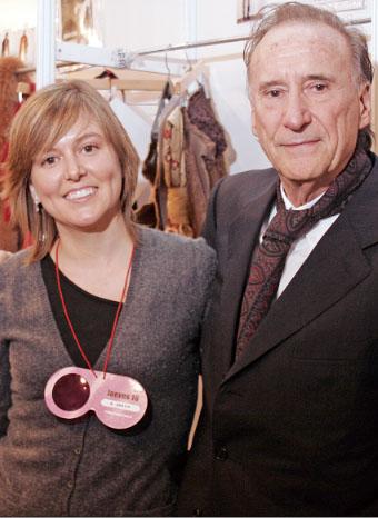 Andrés Sardá y su hija Núria