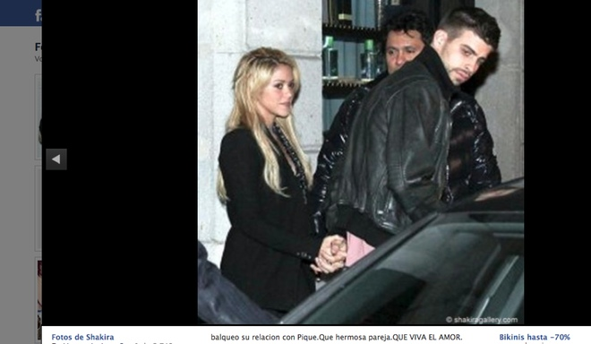 Otra prueba de su amor: Shakira y Gerard Piqué... ¡cogidos de la mano!