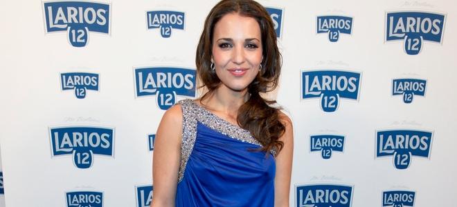 Paula Echevarría en la fiesta de presentación del calendario Larios 2011 en Madrid