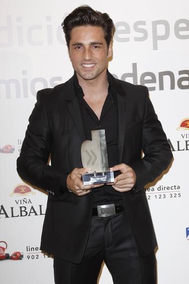 David Bustamente recordó sus inicios en 'Operación Triunfo' en los Premios Cadena Dial 2011