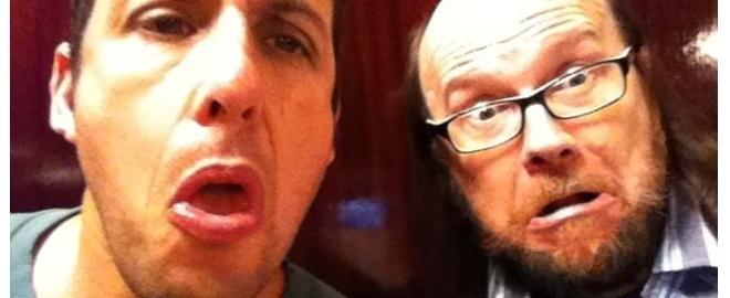 Santiago Segura y Adam Sandler