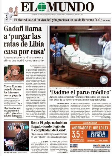 Polémica por la foto de Esperanza Aguirre en camilla a su entrada al quirófano