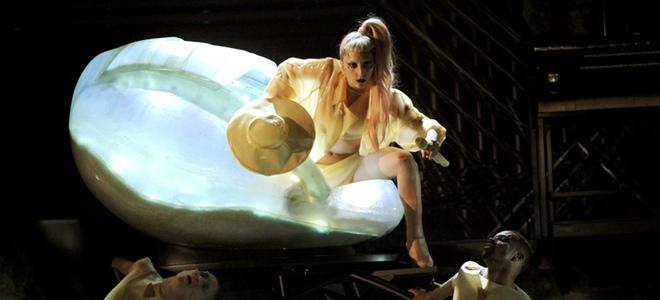 NME Awards 2011: Lady Gaga es el 'Héroe del año'