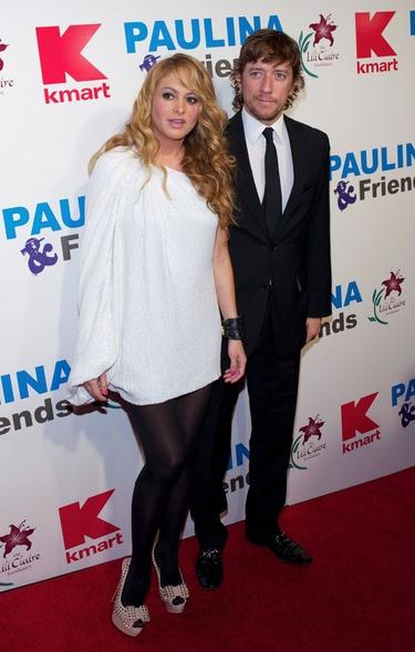 Paulina Rubio y Colate, felices y enamorados junto a su hijo Andrea Nicolás