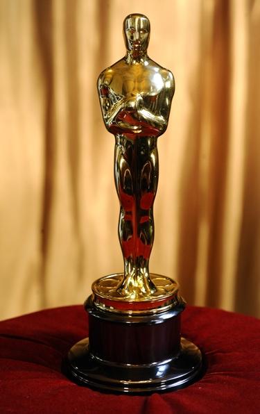 Una estatuilla de los Oscar