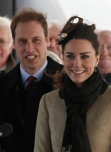 El Príncipe Guillermo y Kate Middleton, primer acto oficial como pareja