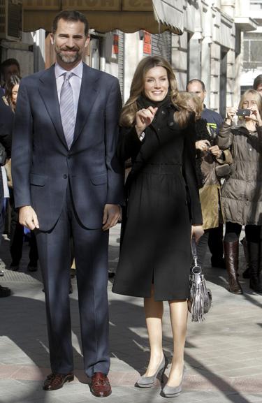 Los príncipes Felipe y Letizia visitan Menorca