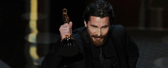 Bale recibe el Oscar