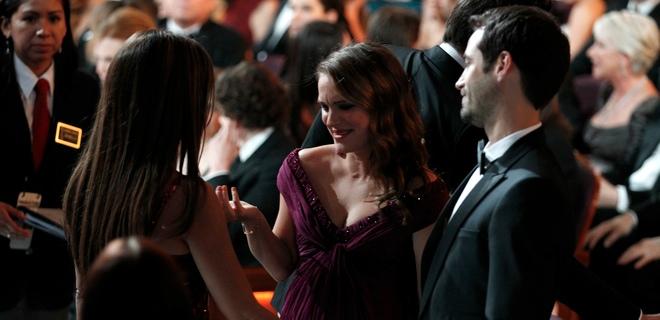 Los consejos de Javier Bardem y Penélope Cruz a Natalie Portman en los Oscar 2011