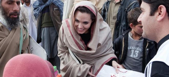 Angelina Jolie en Afganistan