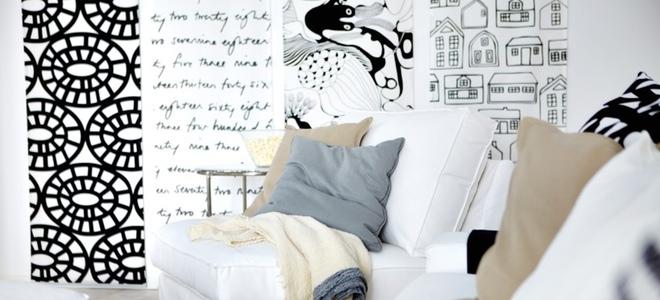 Telas Decoracion Paredes ~   de los colores de tu casa? Redecora tu hogar con telas de colores