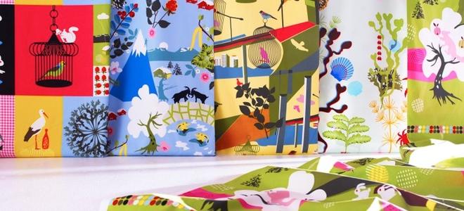 Mantelería y cortinas nuevas y modernas
