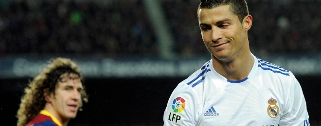 Cristiano Ronaldo y Puyol