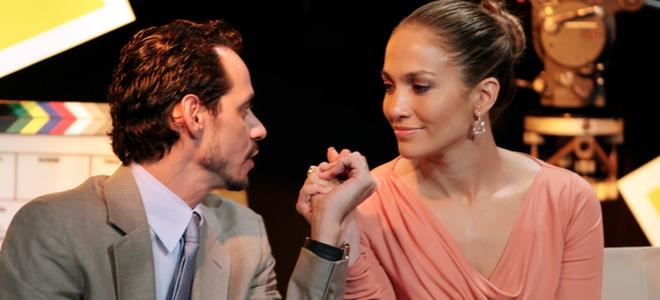 Marc Anthony y Jennifer Lopez, como dos tortolitos tras su crisis matrimonial