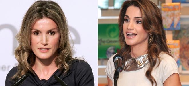Rania de Jordania y Letizia Ortiz, dos mujeres de la realeza con un solo estilismo