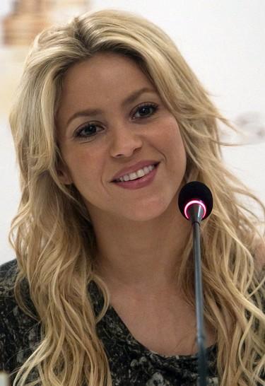 Shakira en su concierto en Chile