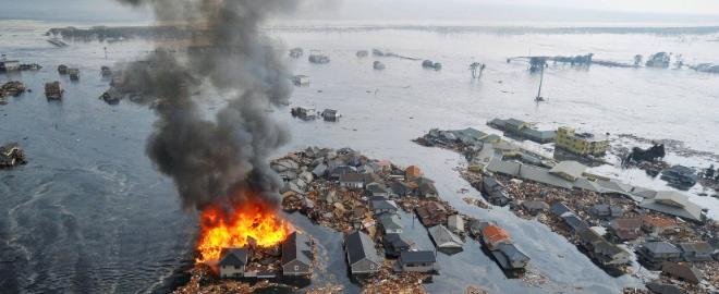 Imágenes de la catástrofe