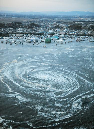 fin del mundo en 2012 tras el terremoto y el tsunami en Japón