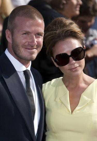 David Beckham y su esposa Victoria confirman que esperan una niña